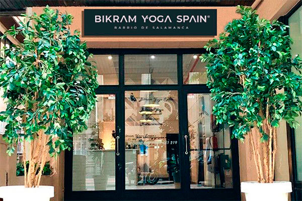 Bikram Yoga Spain Barrio Salamanca, entrance