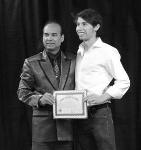 Jonathan-Bikram con Bikram Choudhury