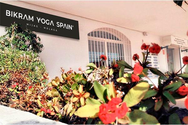Entrance Bikram Yoga Málaga