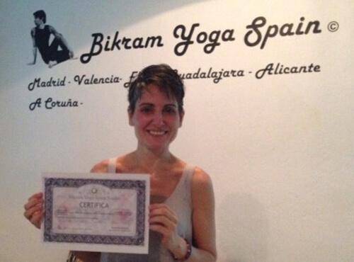 Profesor Bikram Yoga, Ruth Martínez-Piñeiro