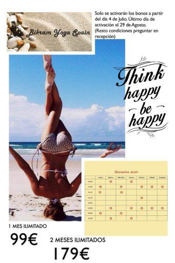 oferta verano y horario 2016