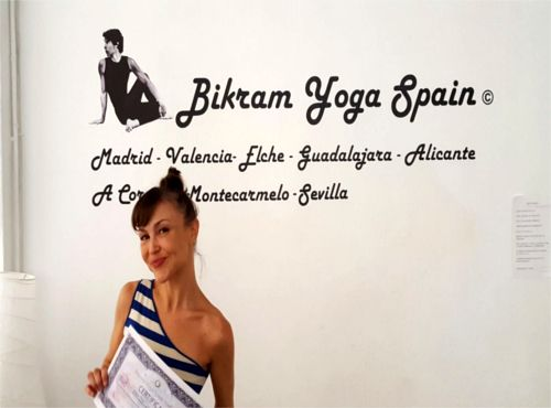 Profesor Bikram Yoga, Susana Domínguez
