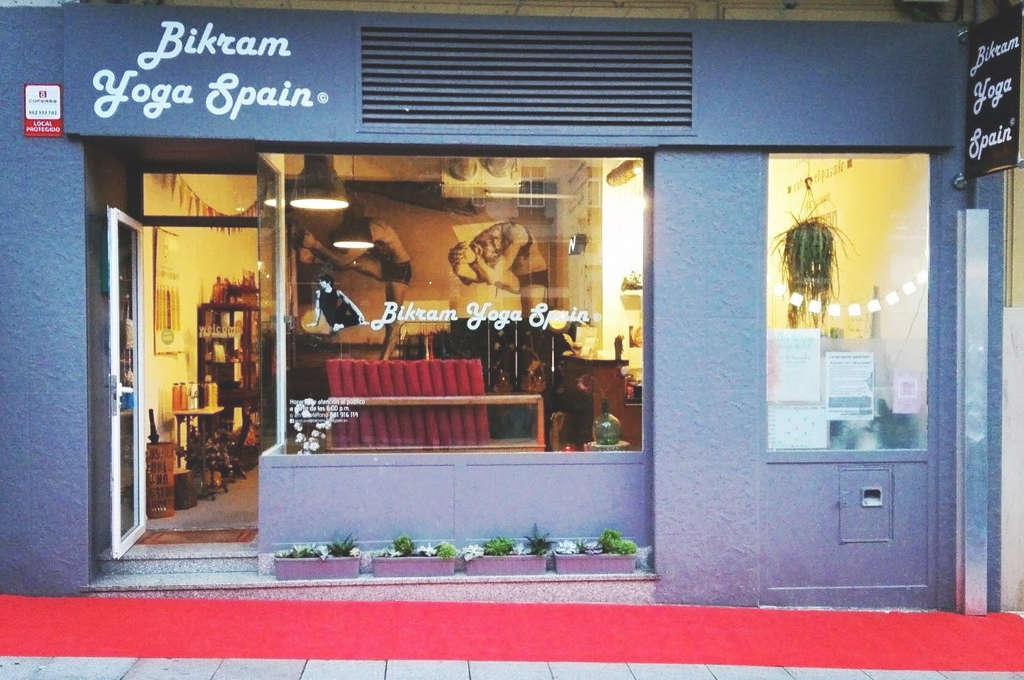 Bikram Yoga Spain Coruña, entrada