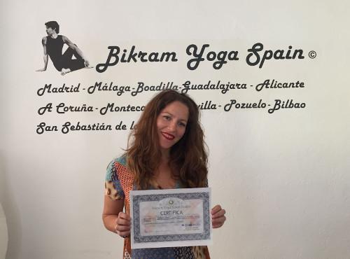 Profesor Bikram Yoga, Lorena Fernández