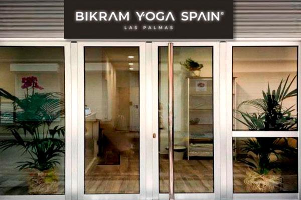 Entrance Bikram Yoga Las Palmas - Canary Islands