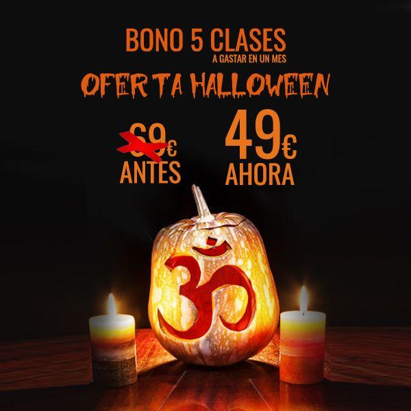 Oferta Halloween yoga