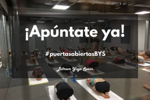 jornada puertas abiertas clases gratis bikram yoga