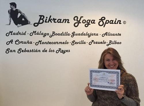 Profesor Bikram Yoga, Natalia