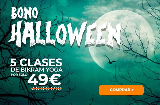 ofertas halloween bikram yoga