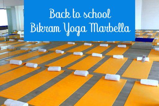 back to school bikram yoga marbella