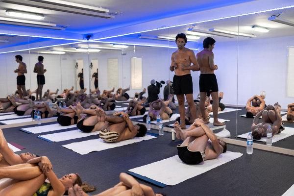 Clase de Bikram Yoga en Toledo