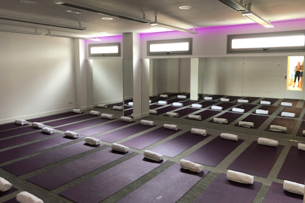Bikram Yoga Room