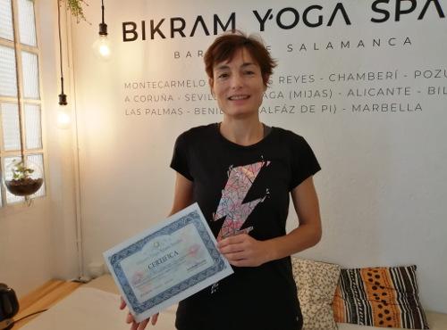 Profesor Bikram Yoga, Ana Martínez