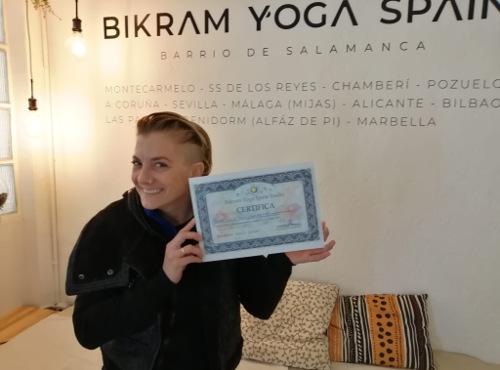 Profesor Bikram Yoga, Soraya Orta