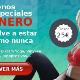 especial enero bikram yoga, vinyasa yoga, hipopresivos