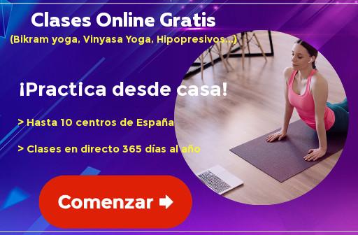 Clases online gratis bikram yoga, vinyasa yoga, hipopresivos