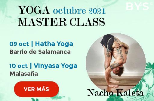 Yoga Master Class en madrid